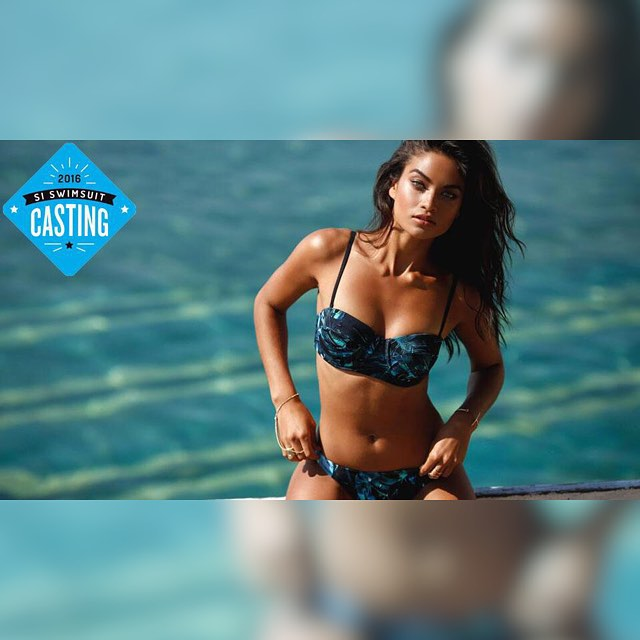 The gorgeous @shaninamshaik from @imgmodels is our newest #SISwimCastingCall. Click the link in our bio!