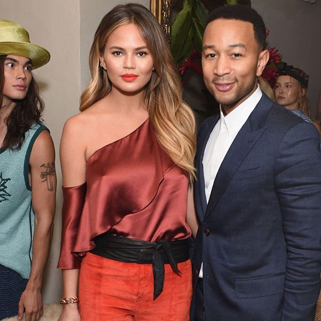 On the next episode of Bein' Chic with @ChrissyTeigen + @JohnLegend... # #IMGirls @voguemagazine @cfda