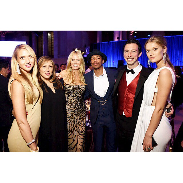 Amazing night with @ofirajewelz @lorraineschwartz @nickcannon @mikeyhess @tonigarrn at #angelball2015 @gabriellesangels #curecancernow