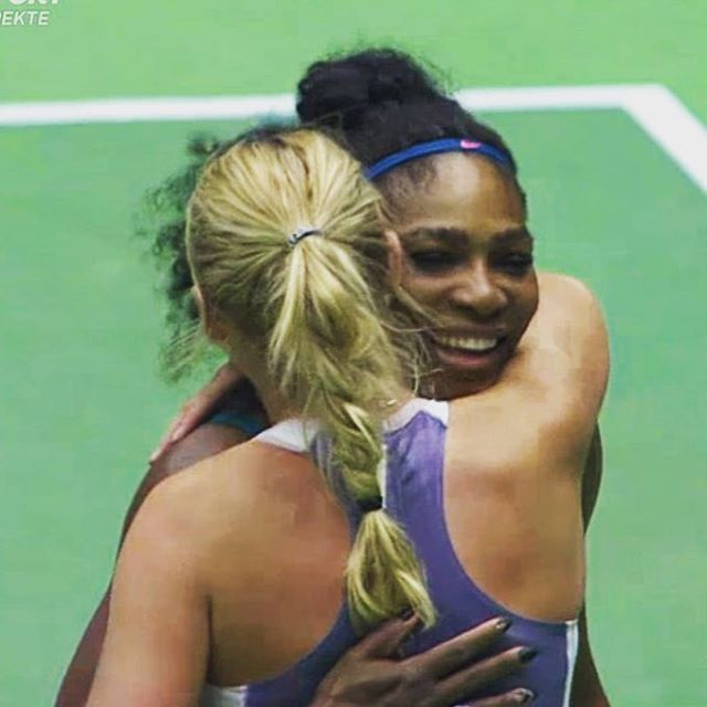 It was such a special night for me tonight! Playing on home soil, inside a packed stadium and in front of the Danish fans was amazing! It made it even more special because I got to play my best friend! Thank you @serenawilliams for coming and help make this day a day I'll never forget!!
