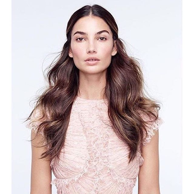 The beautiful @lilyaldridge for @voguemagazine