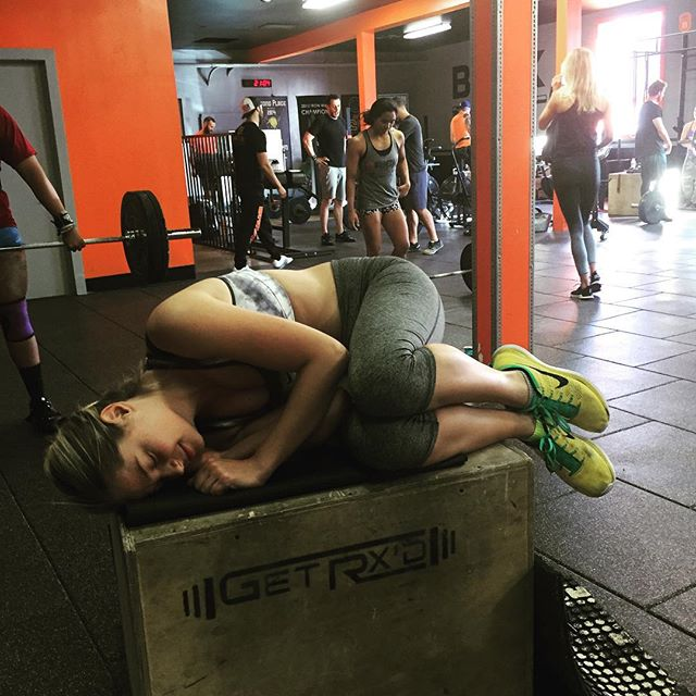 My favorite workout is BOXNAPS I got a personal best today! joyjoy @brickcrossfit