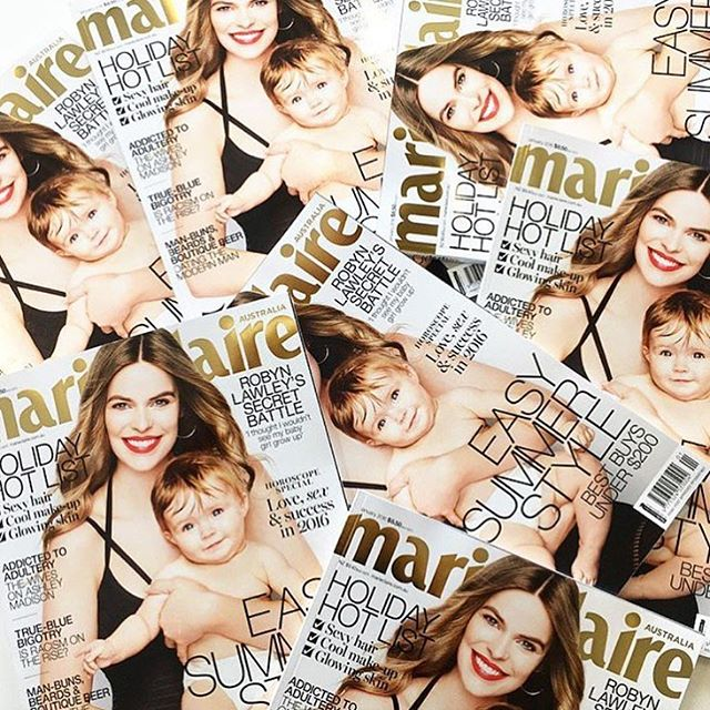 @marieclaireau comes on sale in Australia today. I decided to share my story because sharing creates awareness and helps others connect. Hearing @selenagomez going through something similar helped me know that I'm not alone. I'm beyond grateful for my health today it means more to me now than ever before, especially because I am a mother. I appreciate all who follow me, thank you for your amazing support and encouragement, it's an awesome career that I'm eternally grateful for. Much love