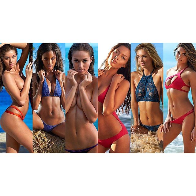 Which one of these beauties do you want to see in the 2017 @si_swimsuit issue? Make sure you cast your vote, link in bio! (by @marquisphoto) #siswim