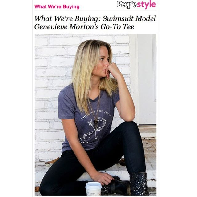 Much love to @people_style for the feature! Literally addicted to my @KellyColeUSA tees. zap Check it out now #PeopleStyle #StyleWatch #WhatWereBuying xx