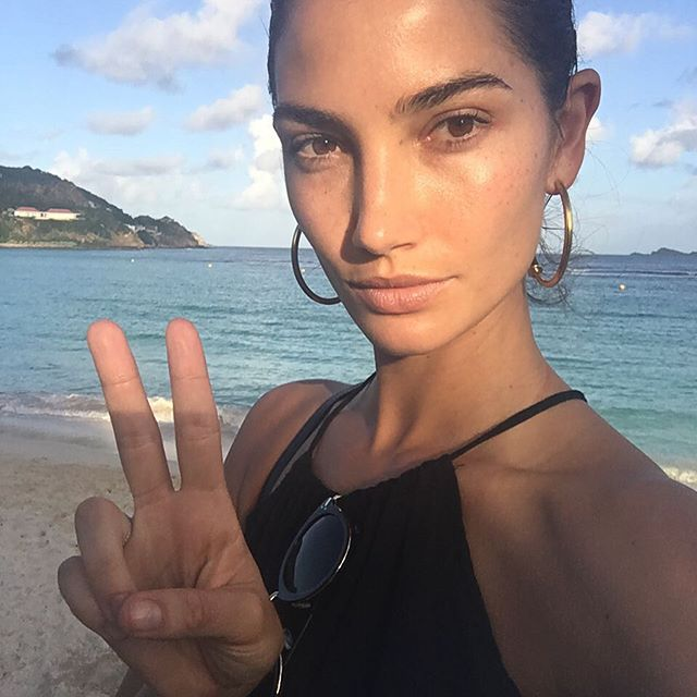 Peace out St Barth's #vsswimspecial