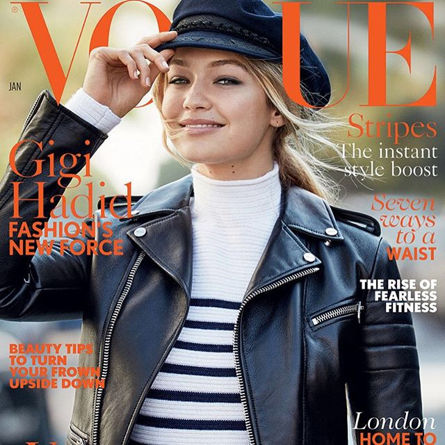 @GigiHadid covers the latest issue @BritishVogue. #IMGirls | @PatrickDemarchelierOfficial