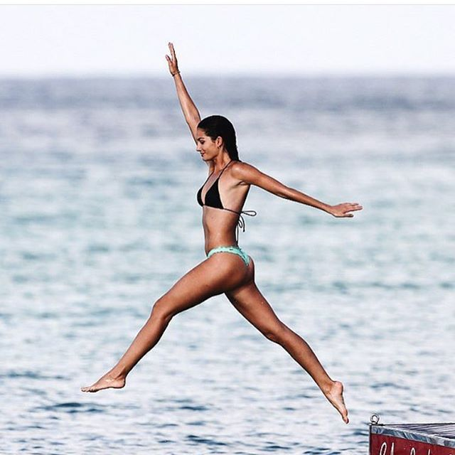 Jump for joy #VsSwimSpecial #StBarth