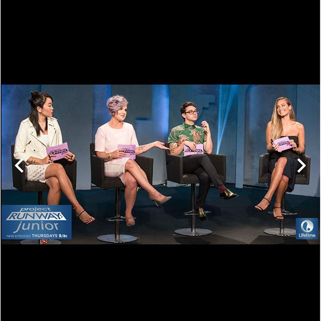 We are back TONIGHT! @ProjectRunwayJunior at 9/8c on @LifetimeTV!