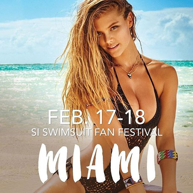 OH HAIII! VAMOS A MIAMI! @si_swimsuit will be in South Beach at 8th and Ocean from 11am-5pm, Feb 17-18. Models, autographs, photos, virtual reality and MEMEMEME DUH! #SISWIM