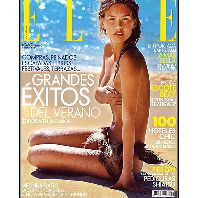 #tbt FRENCH ELLE #seychelles It's in Spanish you're right guys.. But the original was French !