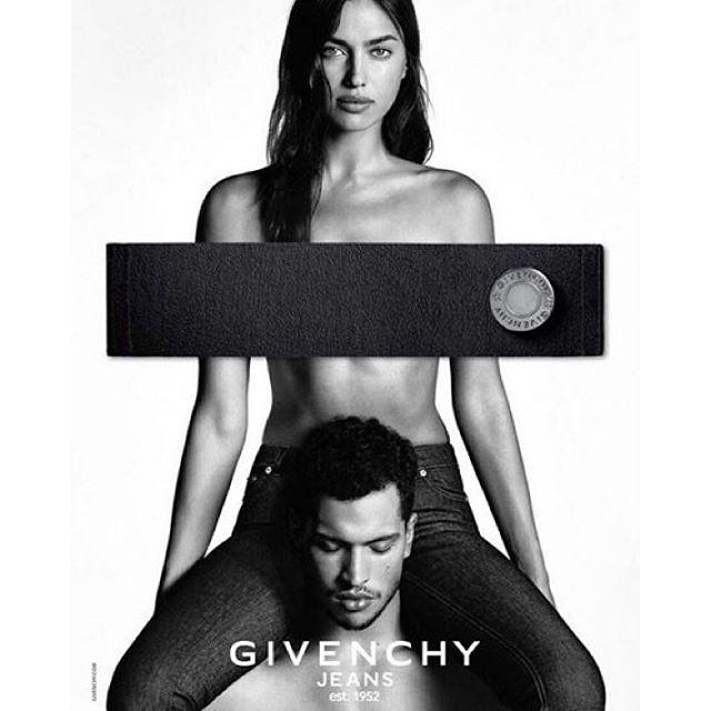 Introducing @givenchyofficial Jeans by @riccardotisci17 starring @irinashayk photo @luigiandiango stylist @carineroitfeld #IrinaShayk #LuigiandIago #RiccardoTisci #Givenchy #GivenchyJeans #Love #Family #Gang #Est1952 #TheLionsNY