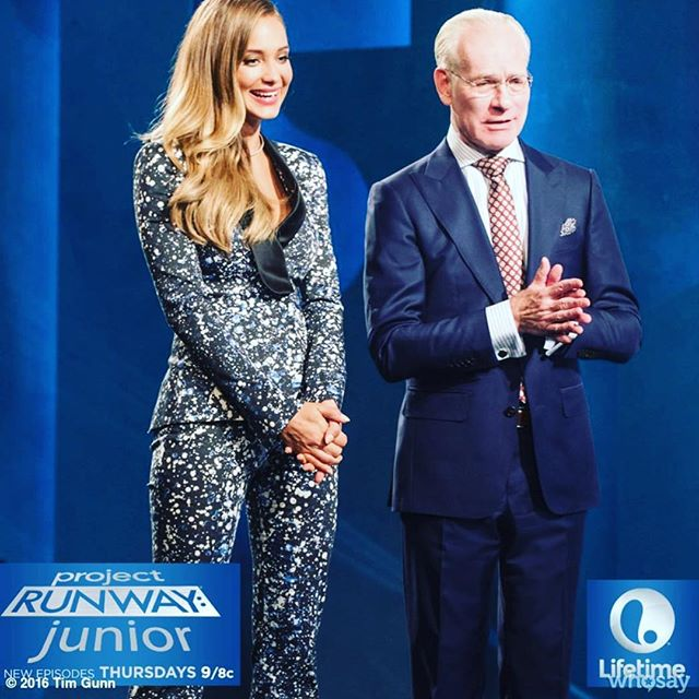 TONIGHT @projectrunwayjunior designers prepare for their #NYFW debut!! Only 4 designers left!! Only on @lifetimetv