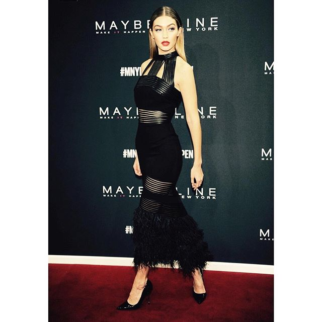last night. @maybellinenewyorkde