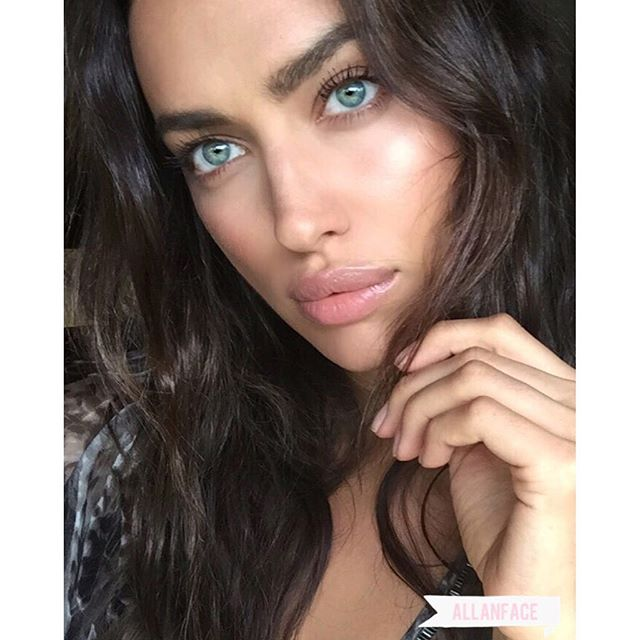 Happy (belated) Birthday @IrinaShayk! Grateful to share many wonderful memories with you and look forward to more! You're beautiful inside and out! Love you! kissing_heart #Makeup: @allanface #Hair: @Jrugg8 #IrinaShayk #Queen #Supermodel #BirthdayGirl #allanface