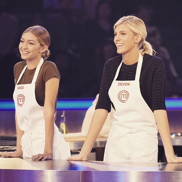 Tune in TONIGHT to @masterchefonfox as I take on my babe @devwindsor - competing to raise money for a charity that is very close to my heart, @globallymealliance! 8/7c on FOX.