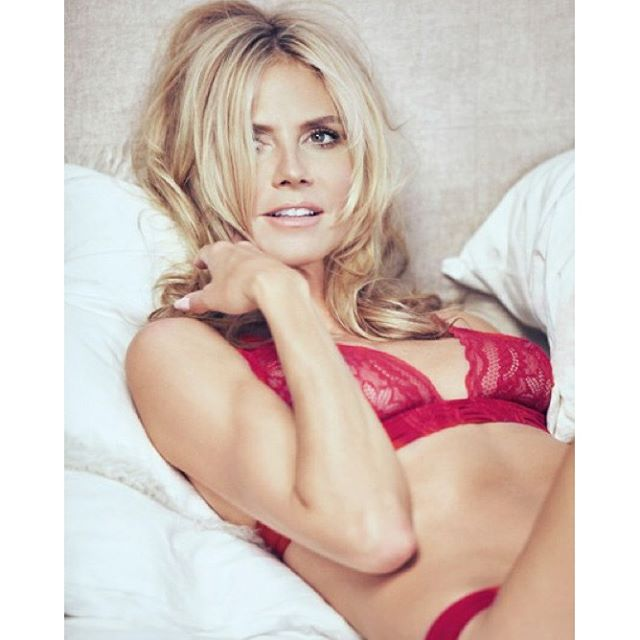 Getting ready for Valentine's Day @heidiklumintimates