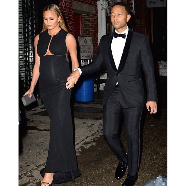 Date Night. On the Town with @ChrissyTeigen + @JohnLegend. #IMGstars