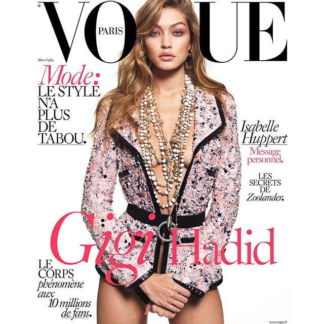 What an honor and dream come true it is to be on the cover of French Vogue. Thank you so much @mertalas @emmanuellealt