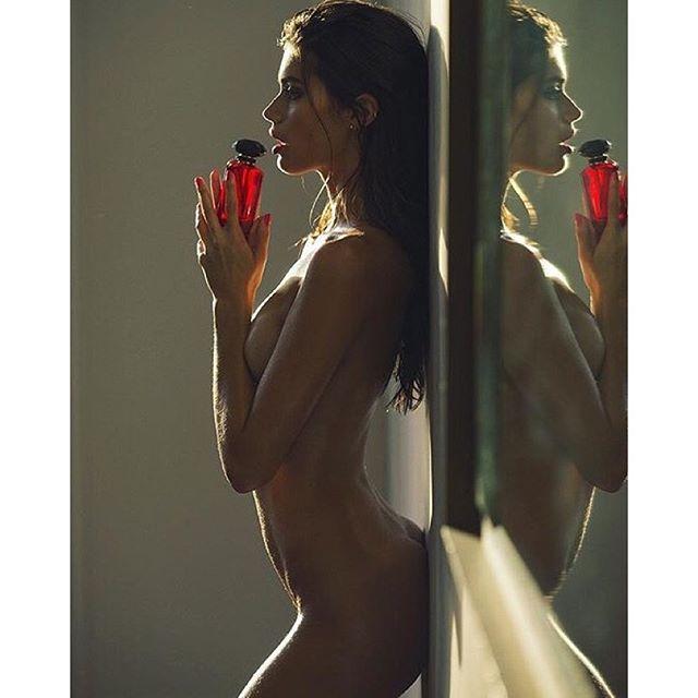 Shot by @davidbellemere #verysexy Fragrance @victoriassecret @insta_bobb @ed_razek @tinat2 @thelionsny