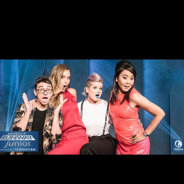 #ProjectRunwayJunior is back THURS at 9/8c on @LifetimeTV!