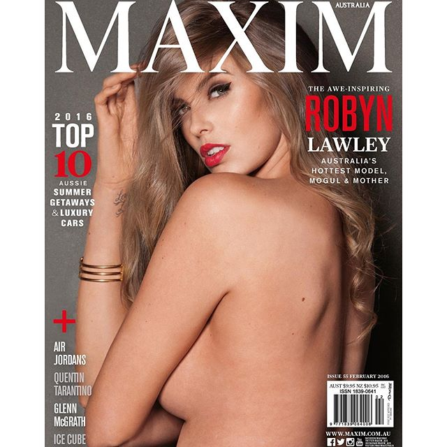#COVERED: @RobynLawley for @Maxim_AUS February shot x @WayneDAnielsPhotographer #Australia