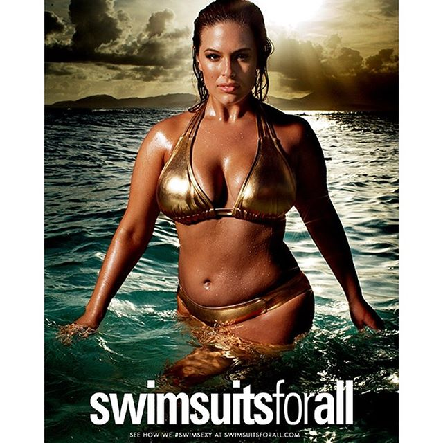 Confidence is my golden rule. Have you seen my new #SwimSexy campaign with @swimsuitsforall in @SI_Swimsuit?
