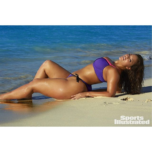 Without further ado, introducing Rookie No. 2 - @theashleygraham! Click the link in our bio to find out all about Ashley! #SISwim