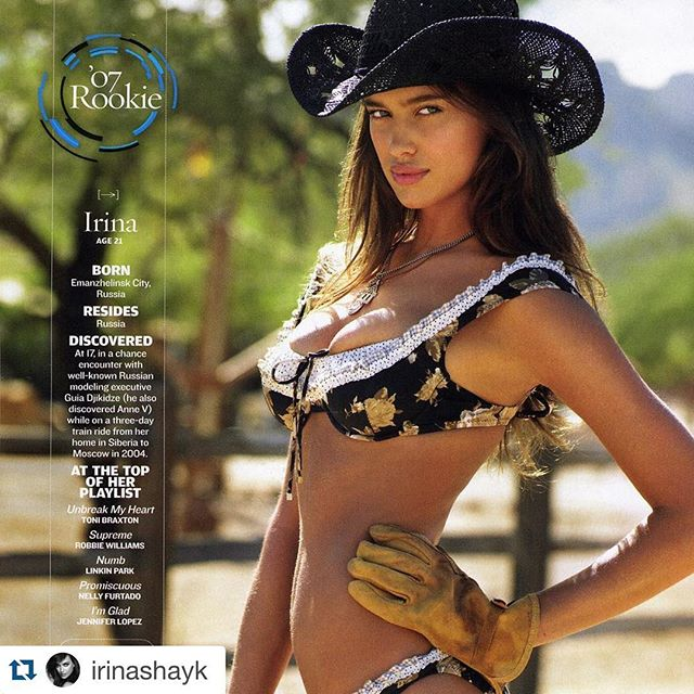 Truly one of my favorite humans on the PLANET!!! @irinashayk 10 years of this hotness. And you absolutely get more ridiculously beautiful every year! @irinashayk with @repostapp. ・・・ Mega throwback to 2007 @sportsillustrated rookie.. Still remember this shoot so well What an honor its been to be part of this amazing team for a decade.. Love u guys