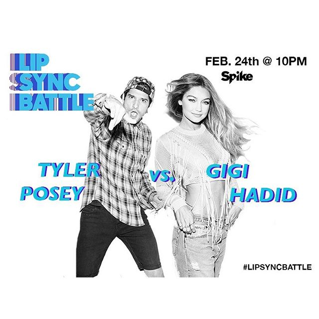 East coast it is happening nowwwww! @gigihadid VS @tylerposey58!