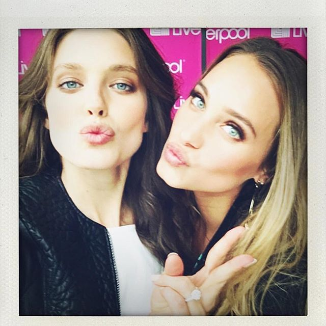 @liverpool_mexico #fashionfest with my babe @emilydidonato