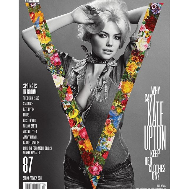 Happy 100 issue @vmagazine, so happy to be apart of the journey! #v100 #vday