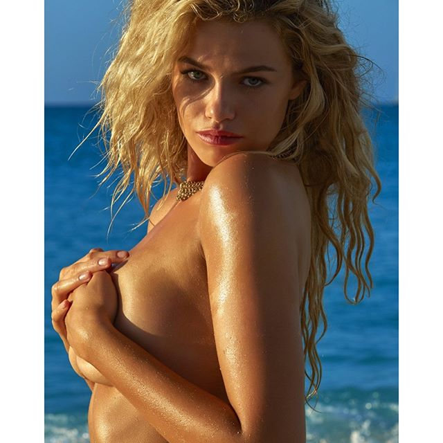 What better day to post a picture of you in your #birthdaysuit than on your #birthday @haileyclauson!!!!!!!!? Happy birthday sunshine!!! xoxo. Send some bday love her way and let's celebrate!!! @jamesmacari @lashstarbeauty @riadazar9