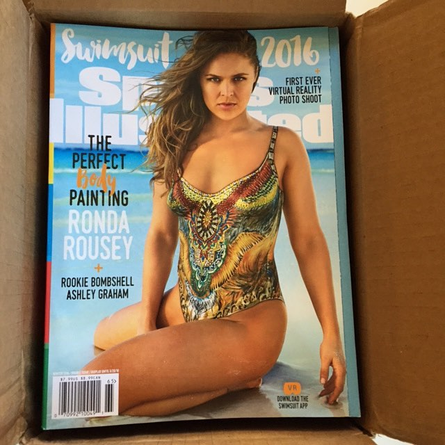 So happy to receive this @si_swimsuit package opening it to see @rondarousey on it Thank you @alyssaconroy Made it in time for my trip to NZ airplane Photographed by @fredericpinet in bodypaint & #makeupbyme #hair @ericgabriel Thank you again @mj_day & @darciebaum #SISWIM bikini #swimsuit inspired by #camilaswimwear #RondaRousey photographed in #GreatExuma #Bahamas #myteam @smcgathyfay @therealmarissajade #ReelCreations #TrendyTribals #maccosmetics #ajcrimson #makeup #mua #bodypaint #JoanneGair