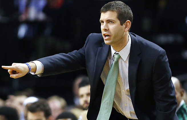 After honoring Bill Russell earlier in the day, Brad Stevens watched his Celtics lose to the Bucks on Friday.