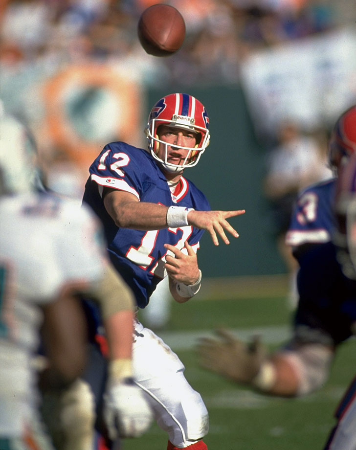 From 1986 until an injury ended his 1996 campaign, Kelly was a remarkable force in Buffalo's no-huddle offense. His Credentials: Inducted into NFL Hall of Fame in 2002, five-time Pro Bowl selection, three-time All-Pro, led Bills to four consecutive Super Bowl appearances. Others in Consideration: Darrelle Revis (2007, Jets); Jeremy Shockey (2002, Giants); Eddie George (1996, Oilers); Ruben Brown (1995, Bills); Randy Gradishar (1974, Broncos)