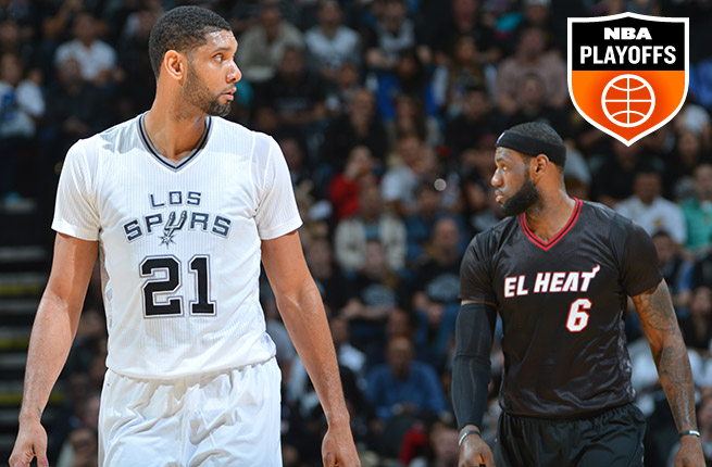 After going seven games in last year's NBA Finals, the Spurs and Heat could end up meeting again.