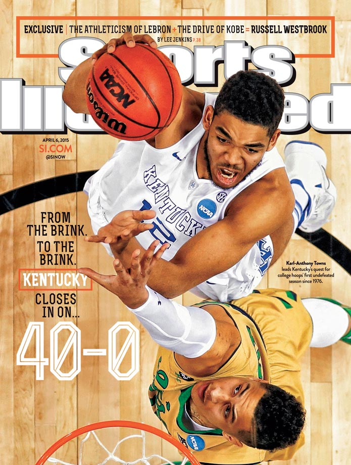 April 6, 2015 | So far this season, Kentucky has dispatched all of their opponents, going into the Final Four just two wins away from a historic 40-0 season.