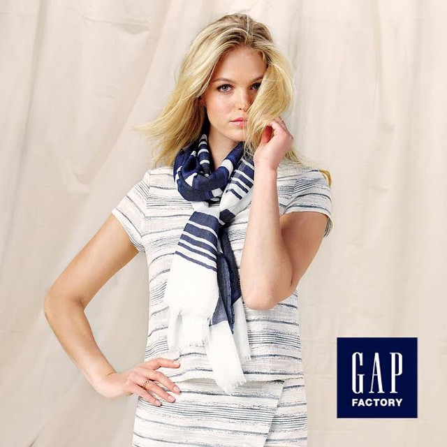 So excited to announce my campaign with @gapfs for Spring! The collection is in stores today! #GapFactory