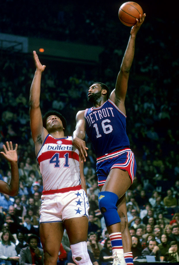 A force in the middle for the Pistons and Bucks, Lanier retired in 1984 with career averages of 20.1 points and 10.1 rebounds. A well-rounded post man who was a strong free-throw shooter (76.7%) and in his prime, a shot-blocker, Lanier lived up to his selection as the No. 1 pick in the 1970 draft, playing for 15 strong years and finishing with five consecutive division titles as a Buck. —Runners-up: Pau Gasol, Jerry Lucas, Cliff Hagan