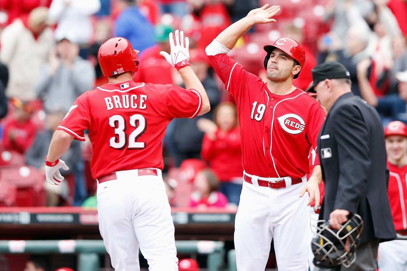 Highest salaries: Joey Votto ($14,000,000), Jay Bruce ($12,041,667), Brandon Phillips ($12,000,000)