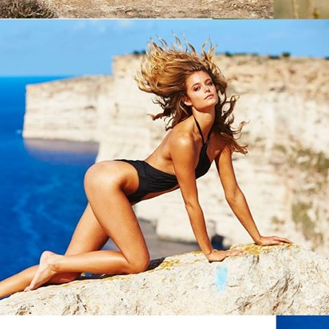 #outake @katelynnebock x @si_swimsuit #malta #summeriscoming #crewlove @mj_day @darciebaum @anthonycristianosalon @christinecherbonnier #shhhhh