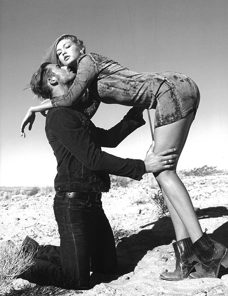 Gigi Hadid with Jacey Elthalion