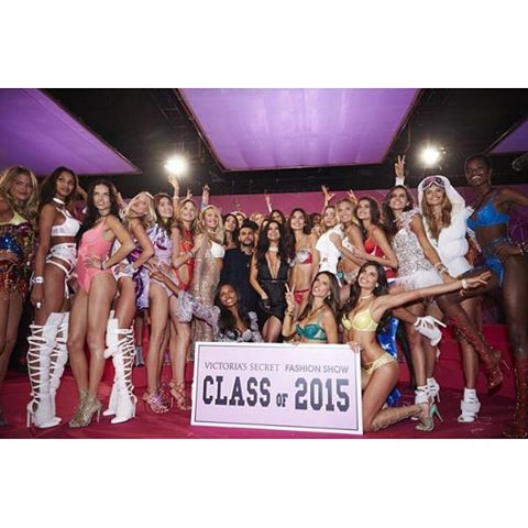 Most epic class photo ever. #VSFashionShow