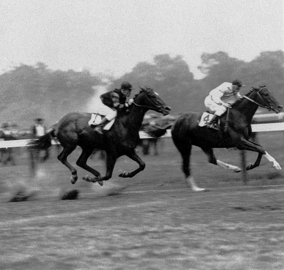 Man o' War started 21 races in his illustrious career but lost just once — to 100-to-1 longshot Upset in the Sanford Memorial at Saratoga.