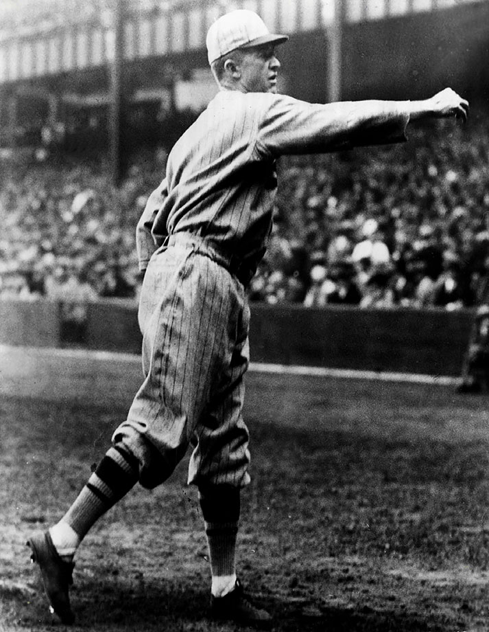 Grover Cleveland Alexander was well past his prime in 1926 and he spent much of Game 7 sitting in the visitor's bullpen at Yankee Stadium. But the future Hall of Famer was called on to pitch in the bottom of the seventh with the bases loaded and the Cardinals leading by a run. He struck out Tony Lazzeri, another Hall of Famer, and then shut down the Yankees in the last two innings to help St. Louis win its first World Series.