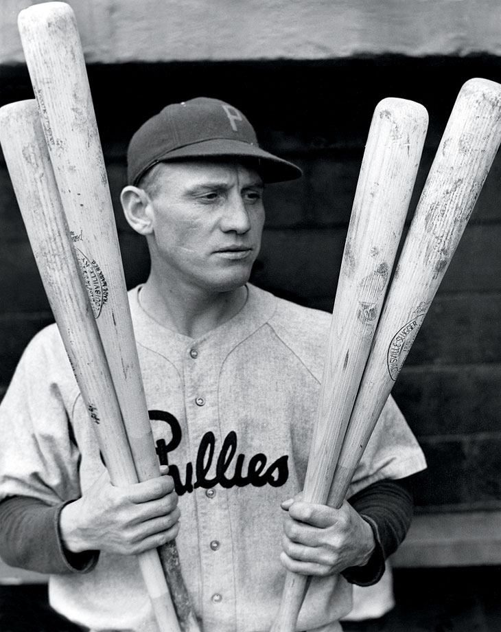 Klein was past his heyday when he happened upon his historic game. The Hall of Famer led the National League in home runs in 1929, 1931, 1932 and 1933. He was dealt from the Chicago Cubs to the Philadelphia Phillies on May 21, 1936 and hit his four home runs for the Phillies 50 days later in a 9-6 win over the Pittsburgh Pirates.