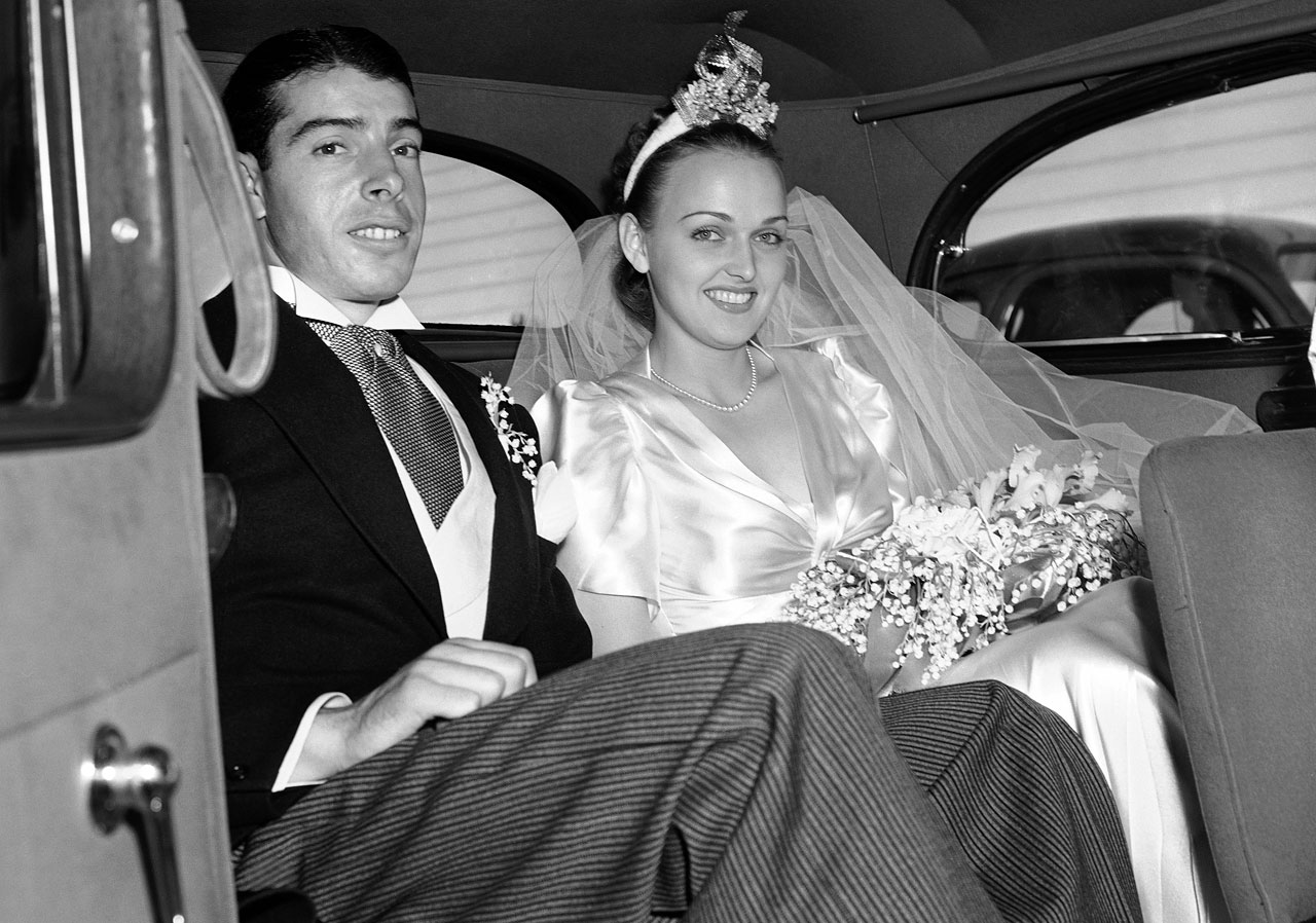 Joe DiMaggio and Dorothy Arnold