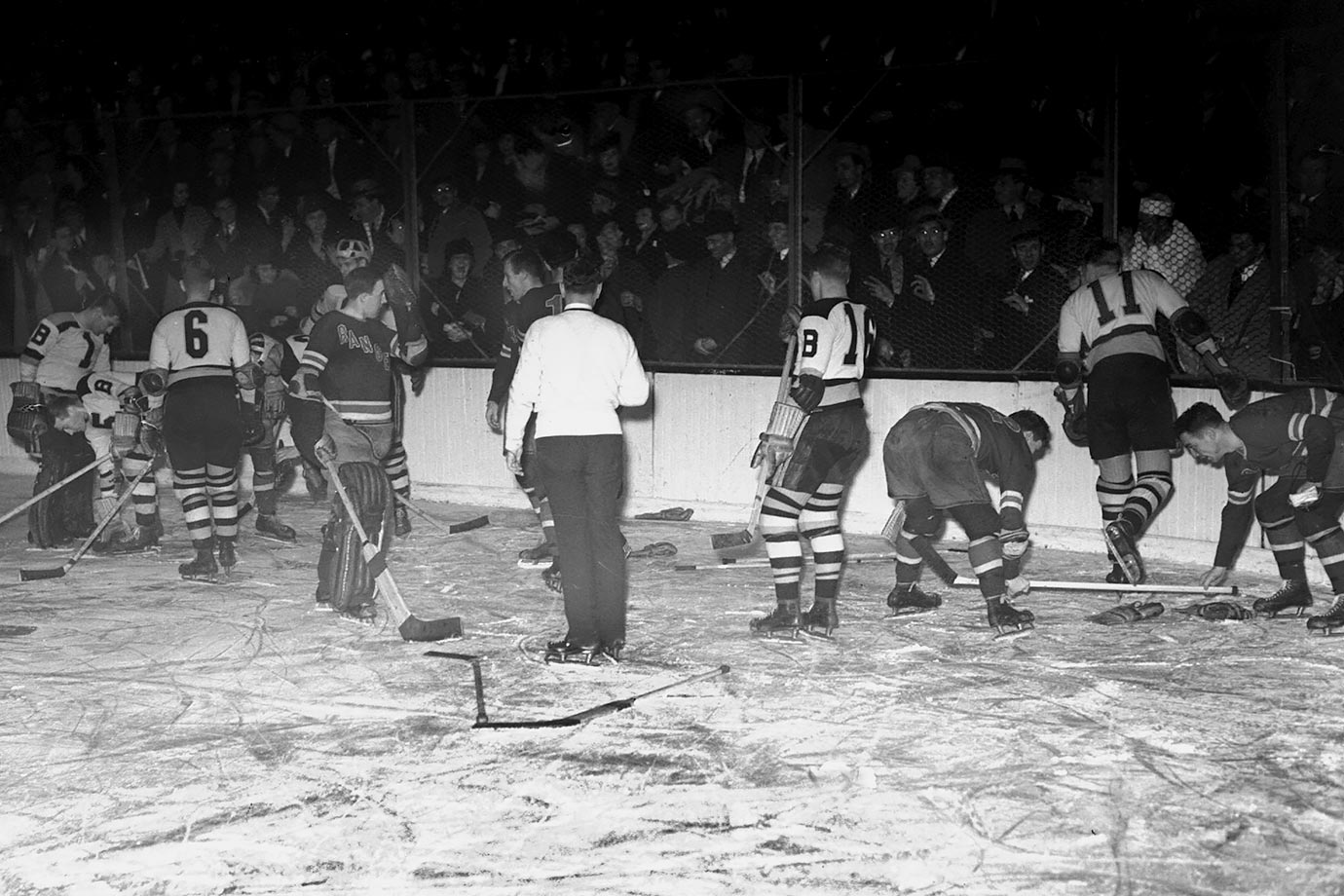 """Ice hockey is a form of disorderly conduct in which the score is kept."""