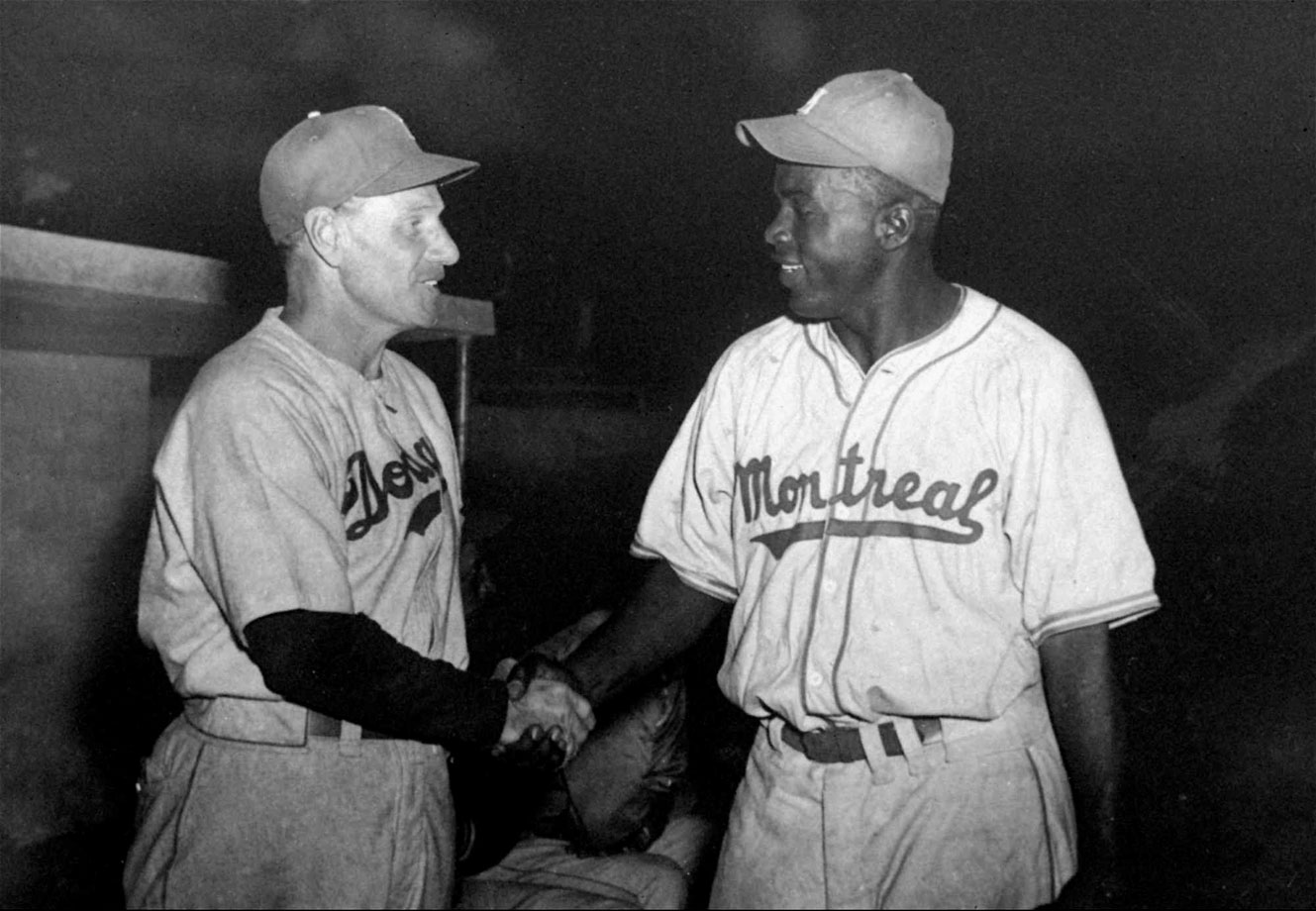 the break through of jackie robinson in american baseball